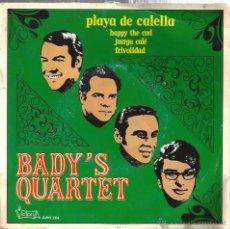 Discos de vinilo: EP BADY´S QUARTET : PLAYA DE CALELLA . Lote 54028460