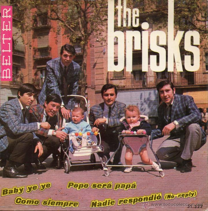 BRISKS, THE, EP, NADIE RESPONDIO (NO REPLY - BEATLES) + 3, AÑO 1965 (Música - Discos de Vinilo - EPs - Grupos Españoles 50 y 60)