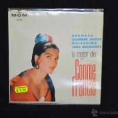 Discos de vinilo: CONNIE FRANCIS - GRANADA +3 - EP. Lote 54034117