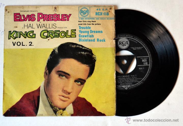 1f67ce5312a SINGLE ELVIS PRESLEY . KING CREOLE. AÑO 1958 (Música - Discos - Singles  Vinilo