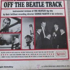 Discos de vinilo: DISCO LP OFF THE BEATLE TRACK. Lote 54044494