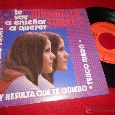 Discos de vinilo: MANOELLA TORRES TE VOY A ENSEÑAR A QUERER/AHORA QUE SOY LIBRE/TENGO MIEDO +1 EP 1973 MEXICO. Lote 54044508