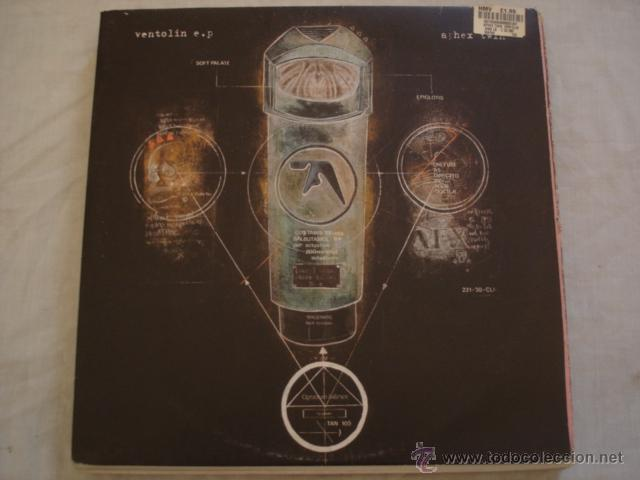 Aphex twin ?– ventolin (limited edition) - Sold through