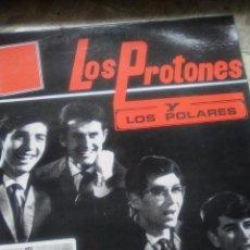 Discos de vinilo: DISCO DE LOS PROTONES GRUPO ESPAÑOL DE LOS AÑOS 1960 SIN ESTRENAR. Lote 54054495