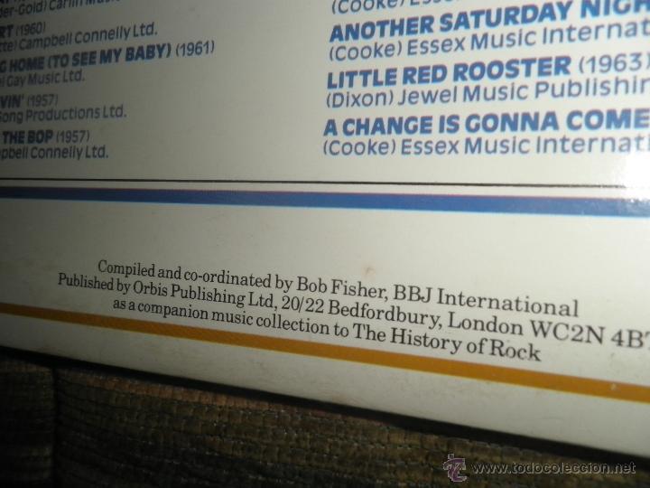 Discos de vinilo: THE HISTORY OF ROCK VOLUME FOUR DOBLE LP - EDICION INGLESA - ORBIS RECORDS 1982 GATEFOLD COVER - - Foto 3 - 54061022