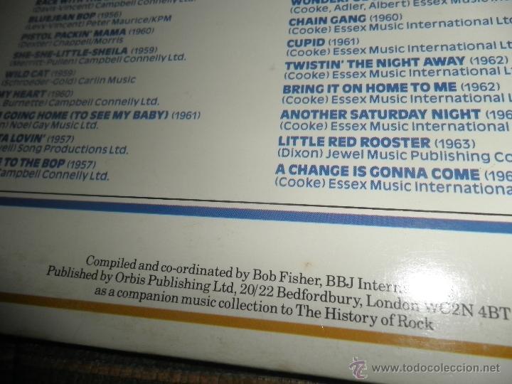 Discos de vinilo: THE HISTORY OF ROCK VOLUME FOUR DOBLE LP - EDICION INGLESA - ORBIS RECORDS 1982 GATEFOLD COVER - - Foto 4 - 54061022
