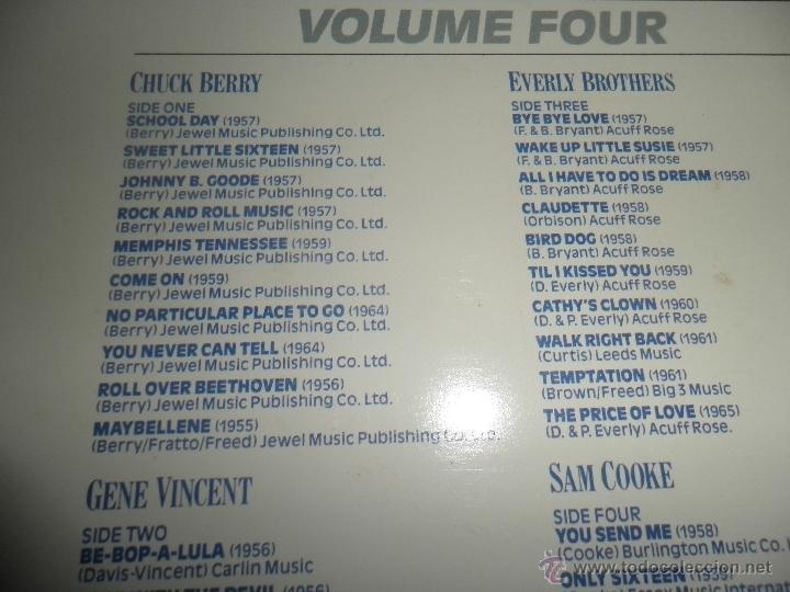 Discos de vinilo: THE HISTORY OF ROCK VOLUME FOUR DOBLE LP - EDICION INGLESA - ORBIS RECORDS 1982 GATEFOLD COVER - - Foto 5 - 54061022