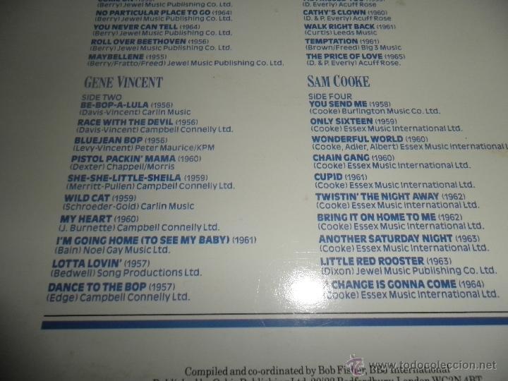 Discos de vinilo: THE HISTORY OF ROCK VOLUME FOUR DOBLE LP - EDICION INGLESA - ORBIS RECORDS 1982 GATEFOLD COVER - - Foto 6 - 54061022