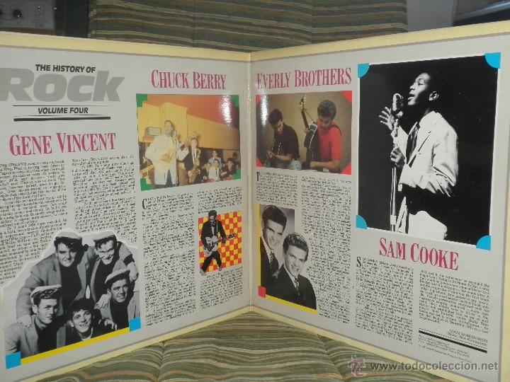 Discos de vinilo: THE HISTORY OF ROCK VOLUME FOUR DOBLE LP - EDICION INGLESA - ORBIS RECORDS 1982 GATEFOLD COVER - - Foto 10 - 54061022