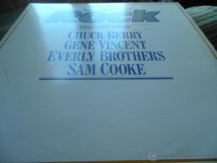 Discos de vinilo: THE HISTORY OF ROCK VOLUME FOUR DOBLE LP - EDICION INGLESA - ORBIS RECORDS 1982 GATEFOLD COVER - - Foto 13 - 54061022