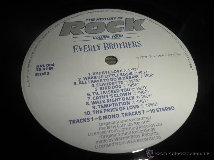 Discos de vinilo: THE HISTORY OF ROCK VOLUME FOUR DOBLE LP - EDICION INGLESA - ORBIS RECORDS 1982 GATEFOLD COVER - - Foto 20 - 54061022