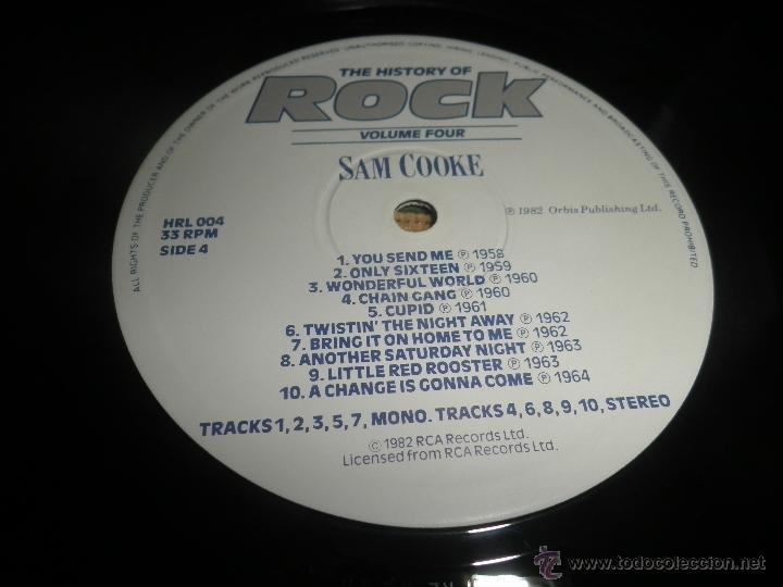 Discos de vinilo: THE HISTORY OF ROCK VOLUME FOUR DOBLE LP - EDICION INGLESA - ORBIS RECORDS 1982 GATEFOLD COVER - - Foto 22 - 54061022