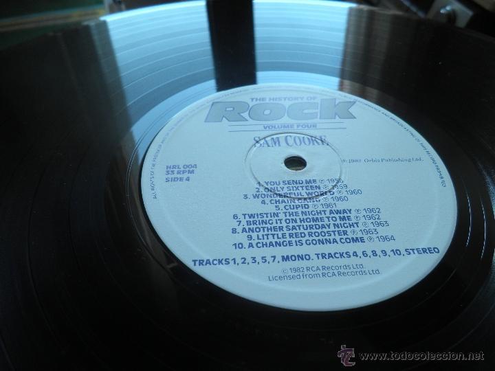 Discos de vinilo: THE HISTORY OF ROCK VOLUME FOUR DOBLE LP - EDICION INGLESA - ORBIS RECORDS 1982 GATEFOLD COVER - - Foto 24 - 54061022