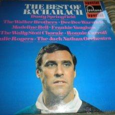 Discos de vinilo: BURT BACHARACH - THE BEST OF BACHARACH LP - ORIGINAL INGLES - FONTANA 1968 - MUY NUEVO (5). Lote 54061514