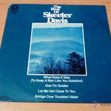 Discos de vinilo: SKEETER DAVIS - THE BEST OF SKEETER DAVIS (LP 1978, PICKWICK ACL-7061). Lote 54061977