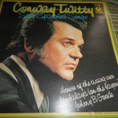 Discos de vinilo: CONWAY TWITTY - STAR SPANGLED SONGS LP - EDICION INGLESA - SOUNDS SPER B 1970 - STEREO -. Lote 54064529
