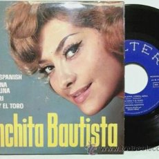 Discos de vinilo: CONCHITA BAUTISTA -EP- TYPICAL SPANISH + 3 OR SPAIN 60'S. Lote 54066589