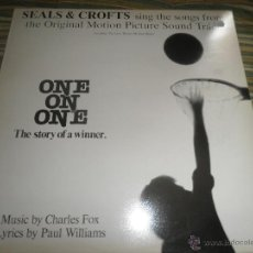 Discos de vinilo: SEALS & CROFTS - ONE ON ONE B.S.O. LP - ORIGINAL INGLES - WARNER BROS. 1977 - STEREO -. Lote 173567625