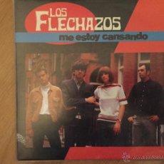 Discos de vinilo: LOS FLECHAZOS: ME ESTOY CANSANDO- TENGO MIEDO. Lote 54069793