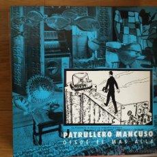 Discos de vinilo: PATRULLERO MANCUSO: DESDE EL MAS ALLA. Lote 54072413