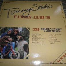 Discos de vinilo: TOMMY STEELE´S FAMILY ALBUM LP - ORIGINAL INGLES - RONCO RECORDS 1979 GATEFOLD COVER -. Lote 54073843