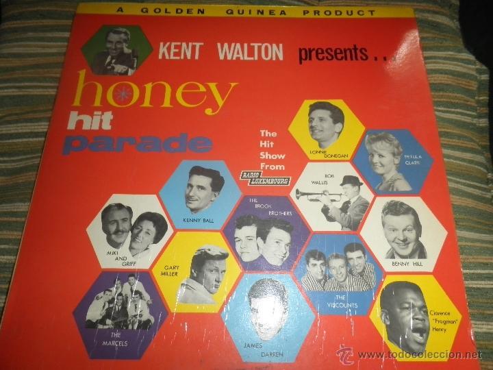 KENT WALTON (RADIO LUXEMBURGO PRESENTS HONEY HIT PARADE LP - ORIGINAL INGLES GOLDEN GUINEA 1962 MONO (Música - Discos - LP Vinilo - Pop - Rock Extranjero de los 50 y 60)