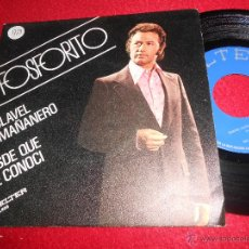 Discos de vinilo: FOSFORITO CLAVEL MAÑANERO/DESDE QUE TE CONOCI 7 SINGLE 1974 BELTER EXCELENTE ESTADO. Lote 54083852