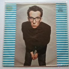 Discos de vinilo: ELVIS COSTELLO - WATCHING THE DETECTIVES / BLAME IT ON CAINE / MYSTERY DANCE (EP PROMO 1978). Lote 54085113