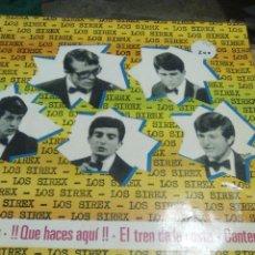 Discos de vinilo: DISCO DE VINILO EP DE 4 CANCIONES LOS SIREX. Lote 54087931