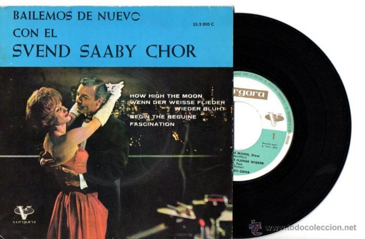 SVEND SAABY CHOR : BEGUIN THE BEGUINE + 3 (Música - Discos de Vinilo - EPs - Orquestas)