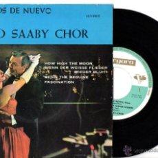 Discos de vinilo: SVEND SAABY CHOR : BEGUIN THE BEGUINE + 3. Lote 54099060