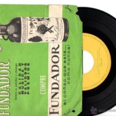 Discos de vinilo: DISCO SORPRESA FUNDADOR : FRANCISCO LARIO - LA HORA / CHAVALA TWIST / ESTA NOCHE PAGO YO / DAME FELI. Lote 54099122