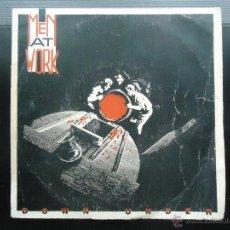 Discos de vinilo: DISCO SINGLE MEN AT WORK VINILO MUSICA DOWN UNDER POP ROCK 80'S ESTEREO DISCOGRAFICA CBS HIT. Lote 54099495