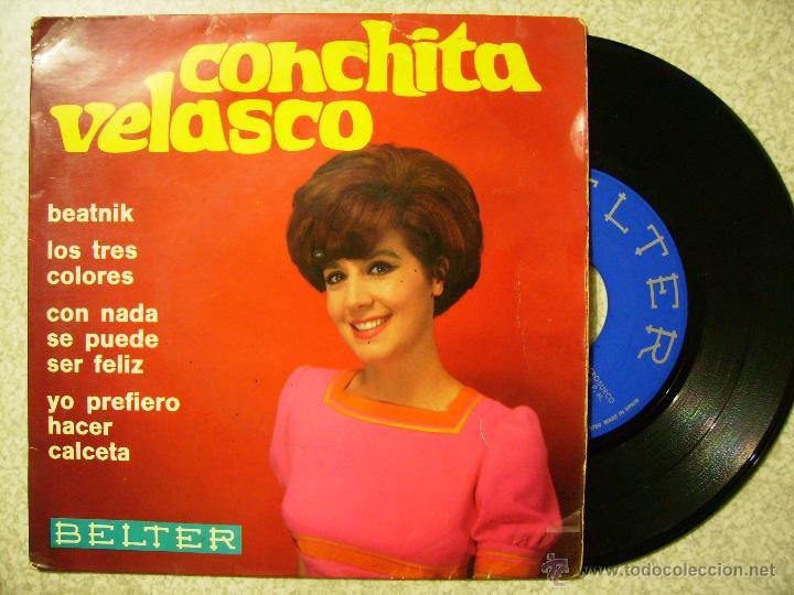CONCHITA VELASCO.BEATNIK + 3 (Música - Discos de Vinilo - EPs - Solistas Españoles de los 50 y 60)