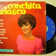 Discos de vinilo: CONCHITA VELASCO.BEATNIK + 3. Lote 54111442