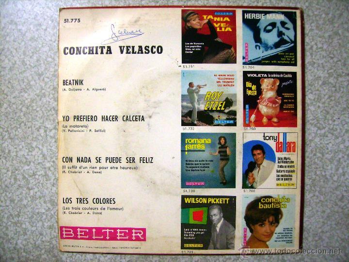 Discos de vinilo: CONCHITA VELASCO.BEATNIK + 3 - Foto 2 - 54111442