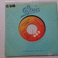 Discos de vinilo: EARTH, WIND & FIRE - GETAWAY (ESCAPATE) / GETAWAY (INSTRUMENTAL) (1976). Lote 54116214