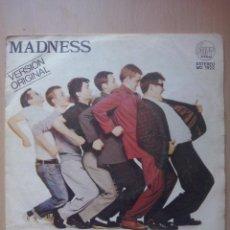 Dischi in vinile: MADNESS- UN PASO ADELANTE- SINGLE STIFF 1980 PROMOCIONAL. Lote 54116907