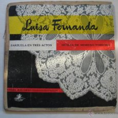 Discos de vinilo: LUISA FERNANDA. Lote 54117238