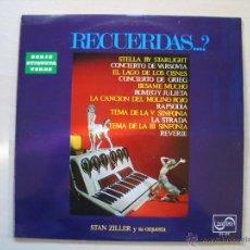 Discos de vinilo: RECUERDOS. Lote 54117301