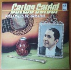 Discos de vinilo: CARLOS GARDEL. MELODIAS DE ARRABAL. NIPPER. LP. EMI. 1986. ESPAÑA.. Lote 54119579