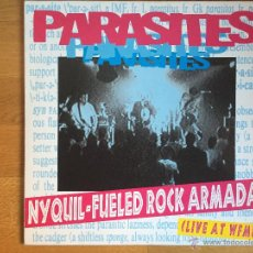 Discos de vinilo: PARASITES: NYQUIL-FUELED ROCK ARMADA (LIVE AT WFMU). Lote 54123094
