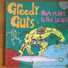 Discos de vinilo: GREEDY GUTS: FROM MARS... TO THE BEACH. Lote 54123279