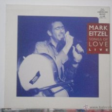 Discos de vinilo: MARK EITZEL-SONGS OF LOVE (LP. DEMON RECORDS, 1991). Lote 54133665