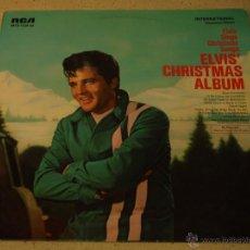 Discos de vinilo: ELVIS PRESLEY ( ELVIS' CHRISTMAS ALBUM ) 1970 - GERMANY LP33 RCA. Lote 54138554