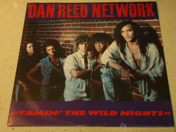 DAN REED NETWORK ( TAMIN' THE WILD NIGHTS - RESURRECT - FORGOT TO MAKE HER MINE ) 1988-HOLANDA MAXI (Música - Discos de Vinilo - Maxi Singles - Heavy - Metal)