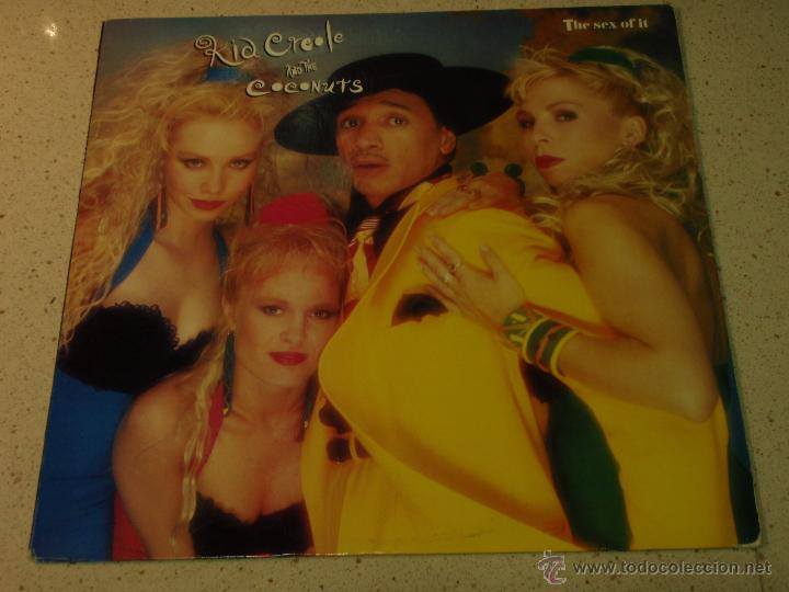 KID CREOLE AND THE COCONUTS ( THE SEX OF IT 4 VERSIONES ) NEW YORK-USA 1990 MAXI45 COLUMBIA (Música - Discos de Vinilo - Maxi Singles - Disco y Dance)
