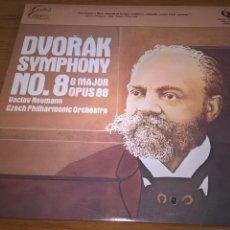 Discos de vinilo: DVORAK-SYMPHONY NO.8 G MAJOR OPUS 88-VACLAV NEUMANN -QUINTESSENCE-LP.. Lote 54140380