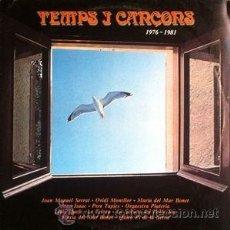 Discos de vinilo: TEMPS I CANÇONS 1976-198 (LP ARIOLA, 1981). Lote 54141951