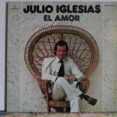 Discos de vinilo: JJ - JULIO IGLESIAS EL AMOR LP AÑO 1975 DOBLE PORTADA. Lote 54146781